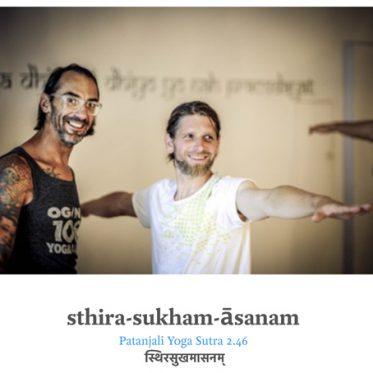 Workshop: sthira-sukham-āsanam - Patanjali Yoga Sutra am 29. 10. 2016