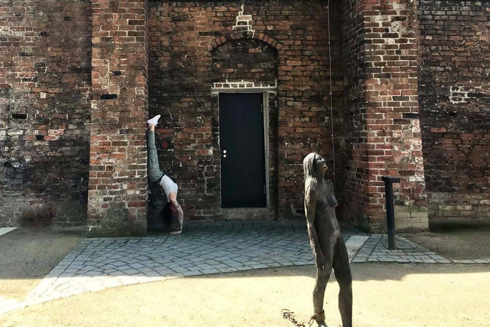 Yoga Pur im Hansemuseum am Weltyogatag